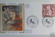 ENVELOPPE PREMIER JOUR SOIE - L'ENFANCE 1979