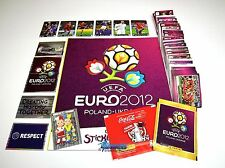 PANINI EM 12 Euro 2012 - Komplettset (Int.) + 6 Coca Cola A-F + Album + Tüten