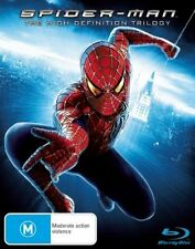 *New & Sealed* Spiderman Movie Original Trilogy 1 2 3 (Blu-ray) Tobey Maguire