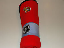 Ottawa Senators NHL Hockey Sleep Wear New Born Polar Fleece Blanket Mighty Mac