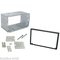 ALPINE CDE-W233R REPLACEMENT DOUBLE DIN  CAGE KIT SURROUND RADIO HEADUNIT STEREO