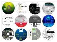 Linux Collection No2 -12 Disks 32 bit, Ubuntu Zorin Bohdi Fedora openSuse & more