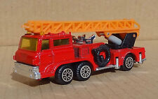 SM Toys (Hong Kong) S 8114 Hino Aerial Ladder Fire Truck - 1970s Chinese model