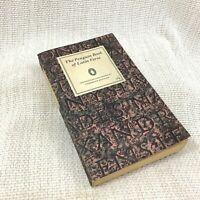 1964 Vintage Pinguino Libro Di Latino Versi Old Brossura Frederick Brittain