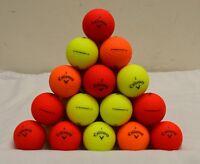 60 Callaway Superhot Bold 4A Mixed Colored Golf Balls