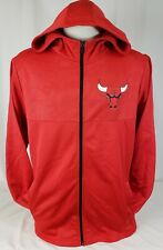 Brand New Men's NBA Fanatics Chicago Bulls Full-Zip Hooded Sweater