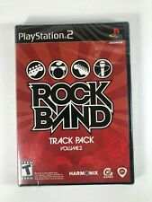 Rock Band Track Pack Vol. 2 Sony PlayStation 2 2008 Brand New Sealed PS2