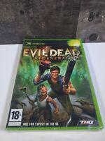 VTG BRAND NEW 2005 EVIL DEAD Regeneration XBOX (PAL REGION) PLS READ DISCRIPTION