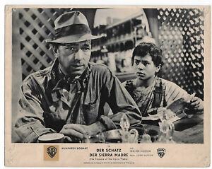 Humphrey Bogart Der Schatz der Sierra Madre orig. EA-Aushangfoto