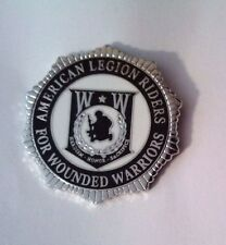 American Legion Riders For Wounded Warriors Hat Pin or Lapel Pin 1""
