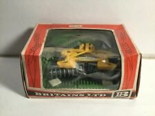 Vintage 1970s Boxed Britains Disc Harrow  No 9553 Boxed