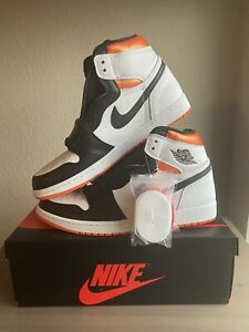 Air Jordan 1 Retro High OG - Electro Orange - M Size 12