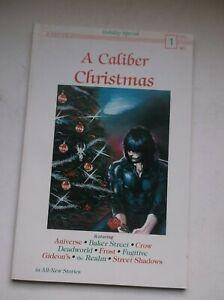 A CALIBER CHRISTMAS #1, FEATURING: JAMES O'BARR'S THE CROW, 1989, VF+ (8.5)!!!