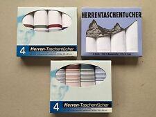 12 Taschentücher, unterschiedliche farbige und weiße in orig. Verpackung