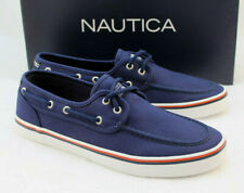 New NAUTICA Size 10 Navy Blue Spinnaker Men's Boat Shoes RETAIL $50