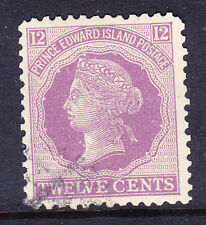 CANADA PRINCE EDWARD IS 1872 SG42 12c reddish-mauve - fine used. Catalogue £85