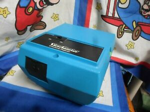 Vintage 1980s View-Master Entertainer Projector Blue Battery Operated