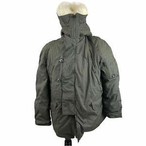 United States US Military Extreme Cold Weather N-3B Parka Jacket Coat Size Large