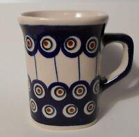 Schöne Kaffee / Tee Tasse aus Bunzlauer Keramik; 250ml (*4030)