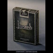 Leonardo (Silver Edition) by Legends Playing Card Company Poker Spielkarten