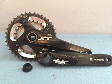 Shimano XT FC-M785 Crankset 2x 10 Speed 175mm Cranks 38/26 Mountain Bike xtr