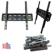 "TV Wall Mount Bracket para pantalla plana LCD Plasma TV 32"" 38 40 46 50 52 55"" pulgadas"