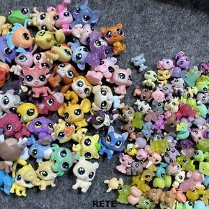 "Random 20PCS Littlest Pet Shop LPS Animals Dog Kitty Kid Toy (10x 1"" +10x 0.5"" )"