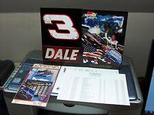 NICE NASCAR DALE EARNHARDT 6 DISC DVD SET NAR. PAUL NEWMAN IN COLLECTOR TIN+++