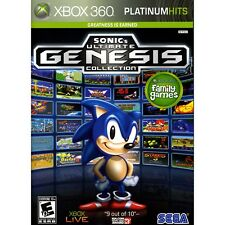 Sonic's Ultimate Genesis Collection (Microsoft Xbox 360, 2009)