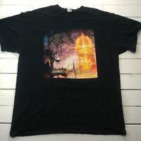 Lord of the Rings Eye of Horus Infernal Calling T-Shirt Sz XL Black Cotton T349