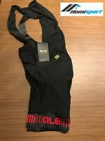 Ale Cycling Bib Short Strada Craphics PRR  2.0 Men|Black/Red|AUTHENTIC-BRAND NEW