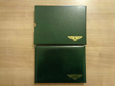Bentley Continental R Owners Handbook/Manual and Wallet