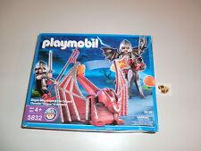 Playmobil Ritter Drachen Katapult US Version 5832 Ovp & Neu