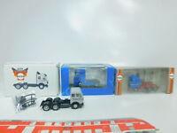 BO921-0,5# 3x Herpa H0/1:87 Zugmaschine MB/Mercedes: 811284 + 195447, TOP+OVP