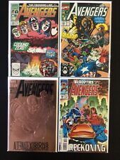 4 Issue Lot - Avengers 323, 330, 360, 368 X-Men Bloodties