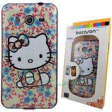 Custodia Hello Gattina Bocoson series per Samsung Galaxy Core 2 G355 cover nuova