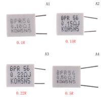 10pcs 5W 5% 0.1/0.15/0.22/0.5 Ohm Cement Resistor Non-Inductive Resistor TB