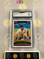 2006 Topps Opening Day Derek Jeter #96 - 10 GEM MINT GMA Graded Baseball Card