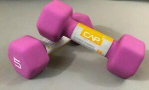 5lb dumbbells neoprene Brand New CAP Set of 2 10lb Total Ready to Ship!