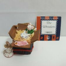 Penny Whistle By Enesco Secret Presents Christmas Figurine Vintage 1.5 Inches