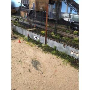 Monroe Models ~ N Scale ~ Junk Yard Fence Laser Kit ~ 9309