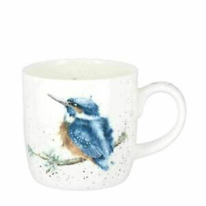 Wrendale Kingfisher Mug Royal Worcester King Of The River Bone China Coffee Cup