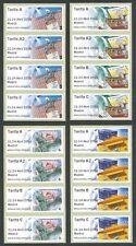 ESPAÑA 2016 -  16 ATMs / ETIQUETAS - MADRID - 300 ANIVERSARIO DE CORREOS