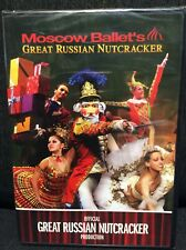 Official Moscow Ballet's Great Russian Nutcracker Production DVD NEW