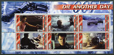 Guinea 2003 MNH James Bond 007 Die Another Day 6v M/S III Movies Stamps