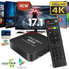 MXG 4K Android 6.0 TV Box HDMI M8S Smart Media Player Pro Streamer HD HDMI WIFI