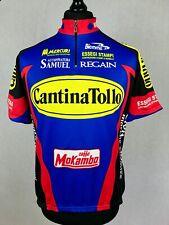Biemme Cantina Tollo Team Cycling Jersey Men's Size 7 F.Moser Rare Bike Shirt
