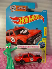 Case K/L 2016 i Hot Wheels TIME ATTAXI #172✰Red; Taxi; gray mc5✰HW City Works