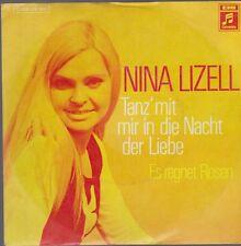"""7"""" Single Nina Lizell Tanz`mit mir in die Nacht der Liebe 70`s EMI Columbia"""