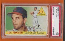 1955 Topps Joe Frazier St. Louis Cardinals #89 Psa Graded 1